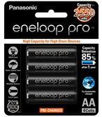 日本製 Panasonic 國際牌 eneloop pro 3號AA(大顆) 2550mAh低自放電池 16入裝送電池盒X4