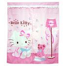【震撼精品百貨】Hello Kitty 凱蒂貓~門簾-85*85公分-抱熊圖案