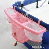 多功能嬰兒床收納袋掛袋床頭尿布袋床邊儲物袋置物架大容量可水洗 卡布奇諾