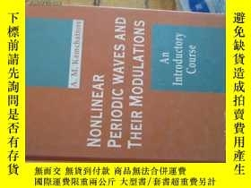 二手書博民逛書店c0007精裝nonlinera罕見periodic waves