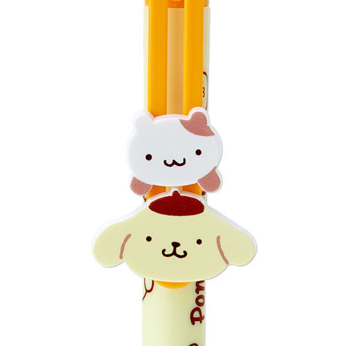 【震撼精品百貨】Pom Pom Purin 布丁狗~布丁狗趣味動動大頭裝飾筆夾原子筆