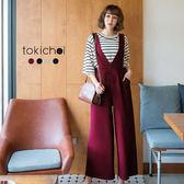 東京著衣-多色雜誌款高腰連身褲-S.M.L.XL.XXL(172432)