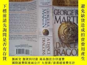 二手書博民逛書店A罕見Dance with Dragons: A Song of Ice and Fire, Book 5(详见图