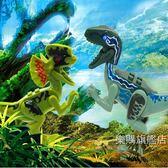 動物模型兒童益智兼容恐龍玩具積木仿真動物模型拼裝套裝霸王龍套裝男
