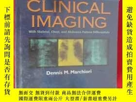 二手書博民逛書店Clin罕見Imag W Skeletal Chest Abdo