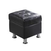 庫倫40深咖啡皮沙發椅凳(18JF/188-3)/ H&D東稻家居