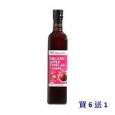 買6送1 味榮 有機蘋果醋(含糖) 500ml/瓶 限時特惠