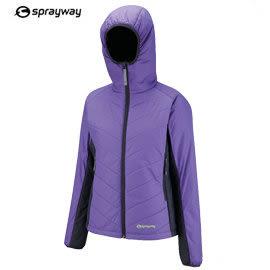 丹大戶外用品 英國【sprayway】2887-392 Firebird Hood 火鳥 女款連帽纖維保暖外套 紫