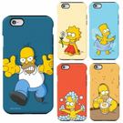 Simpsons 辛普森家庭 雙層防摔 手機殼│iPhone 5S SE 6 6S 7 8 Plus X XS MAX XR│z7230