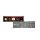 【Diva Life】音樂聖誕夾心禮盒(比利時夾心巧克力5入)