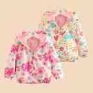 女童外套春秋裝新款韓版童裝兒童寶寶上衣長袖開衫雙層防風雨