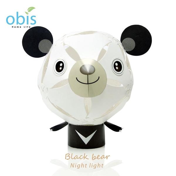 擁瓣燈飾-台灣黑熊【obis】