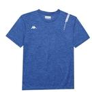 KAPPA義大利 時尚型男舒適型男吸濕排汗圓領衫 義大利藍麻花 33162QWX7F