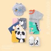 兒童男T恤 嬰兒短袖t恤新款男童夏裝兒童寶寶女2上衣1歲小童3半袖幼兒Y6157  寶貝計畫