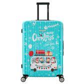 【CENTURION百夫長】拉鍊款29吋C45溫馨聖誕行李箱