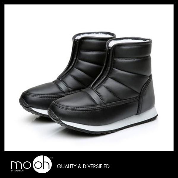 防水防滑雪靴 輕量厚底防風兔毛保暖靴 男女款歐美雪靴 mo.oh (歐美鞋款)