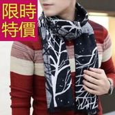 針織圍巾-羊毛毛線加厚禦寒保暖男女圍脖4色61y8【巴黎精品】