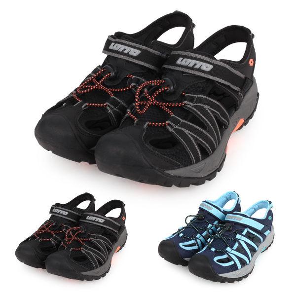 LOTTO 女護趾運動涼鞋(拖鞋 休閒涼鞋 海邊 海灘 戲水≡體院≡