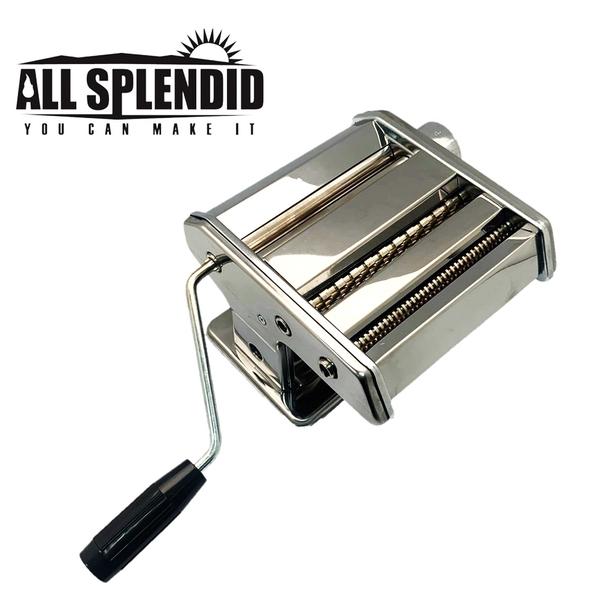 ALL SPLENDID 義大麵機 家用製麵神器 水餃皮 餛飩皮 手動麵條機 桿麵器 擀麵皮機