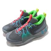 Under Armour 籃球鞋 UA Embiid 1 GM PT 灰 彩色 男鞋 避震 低筒 運動鞋【ACS】 3024114106