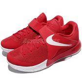 【五折特賣】Nike 籃球鞋 Zoom Live EP 紅 白 魔鬼氈 低筒球鞋推薦 運動鞋 男鞋【PUMP306】 860633-606