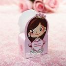 一定要幸福哦~~小公主喜糖盒、送客喜糖、喜糖盒