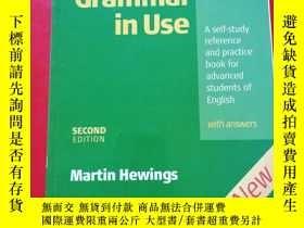 二手書博民逛書店Advanced罕見Grammar in Use 內有字跡多Y2