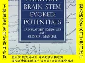 二手書博民逛書店Auditory罕見Brain Stem Evoked Potentials: Laboratory Exerci