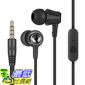 [106美國直購] 耳機 AmazingEC In Ear Earphone Earbuds with Microphone Mini Pouch and Ultra-soft S/M/L