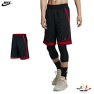 Nike Jordan 兒童 紅 黑 短...