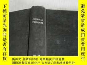 二手書博民逛書店chemical罕見products vol.24 1961 (