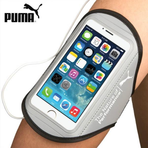 Puma/彪馬跑步手機臂包男女6s蘋果7/8plus運動臂套帶oppo臂袋腕包 生日禮物
