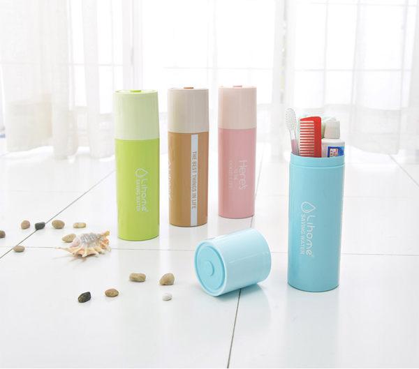 Qmishop 電池造型牙刷盒創意簡約刷牙牙具盒【QJ502】