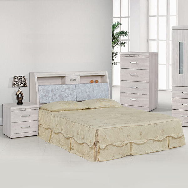 床架【時尚屋】[5U7]晶華雪松3.5尺床箱型加大單人床5U7-22-13+28358不含床頭櫃-床墊/免運費/免組裝