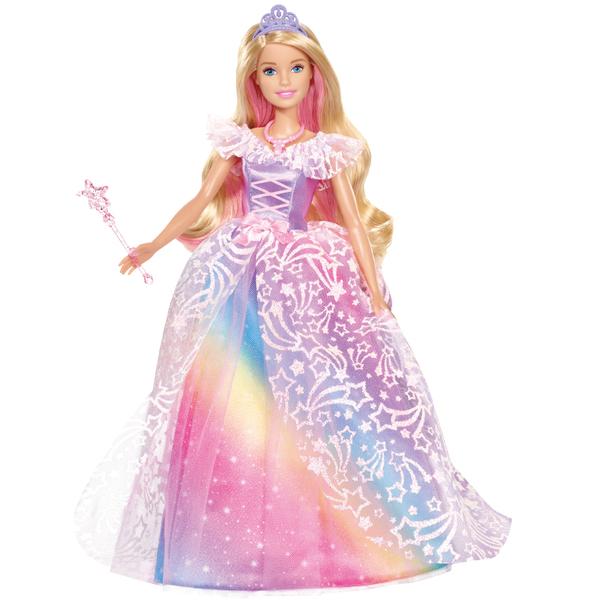 芭比娃娃Barbie夢托邦皇家公主