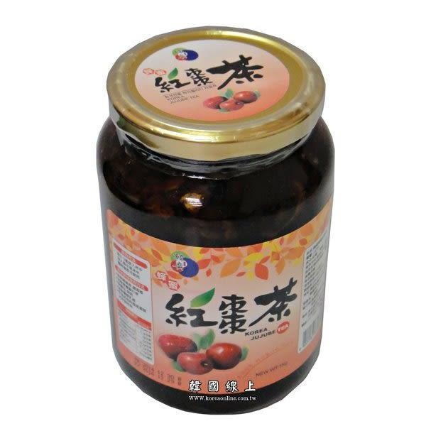 【2罐起限宅配】韓國蜂蜜紅棗茶 (1KG/罐) 韓國養生飲品 韓國原裝進口