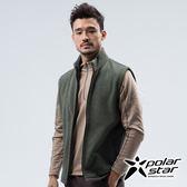 PolarStar 中性 刷毛保暖背心(MIT台灣製/透氣快乾/拉鍊口袋)『深灰綠』P18243 休閒 保暖  防風 夾克