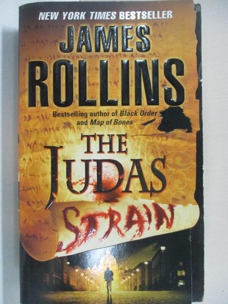 【書寶二手書T1/原文小說_A5L】The Judas Strain_ROLLINS, JAMES
