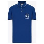 ARMANI EXCHANGE 時尚A/X馬球Polo(藍色)