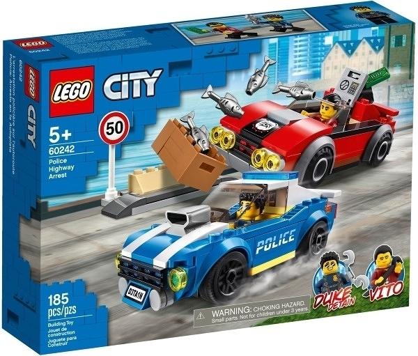 【LEGO樂高】CITY 警察高速公路追捕戰 #60242