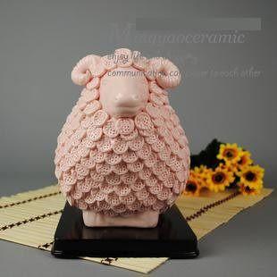 陶瓷器工藝品 萬福羊 福器民間擺件 本命 結婚禮物 送禮禮品
