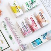 【BlueCat】花語系列盒裝和紙膠帶(5入裝)