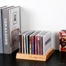 桌面CD架子實木任天堂switch游戲收納架NS收納盒PS4游戲收納架 夏季狂歡