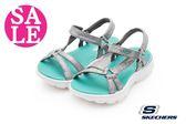 SKECHERS 童涼鞋 Q彈觸感 休閒風格 運動涼鞋 零碼出清  P8280#綠色◆OSOME奧森童鞋