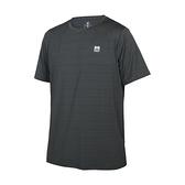 FIRESTAR 男彈性機能短袖圓領T恤(慢跑 路跑 涼感 運動 上衣≡體院≡ D1733-16