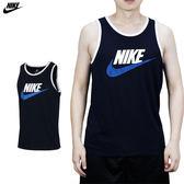Nike Tank Ace Logo 男 深藍 背心 短袖 籃球衣 運動 籃球 慢跑 運動 透氣 無袖 779235453