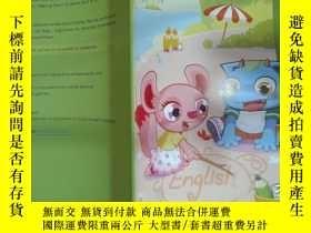 二手書博民逛書店ALO7罕見GENIUS ENGLISH 3(work book)Y22725