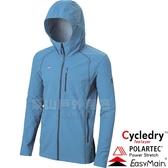 EasyMain衣力美 CE17087-56淺灰藍 男耐磨快乾夾克風衣 Polartec防風95% 戶外機能外套/防寒防風