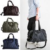 [ 潮流堂 ]  超強實用大容量防水可水洗二用包/ 旅行袋  BLACK-A15/可套拉桿