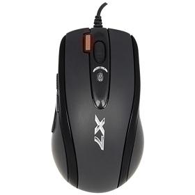A4MSX718BK-1/A4 X7火力王滑鼠USB黑
